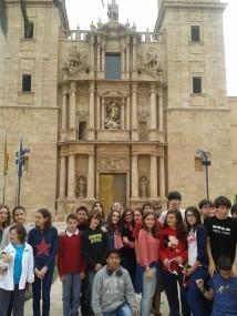 Los alumnos de 2º en la Biblioteca Valenciana